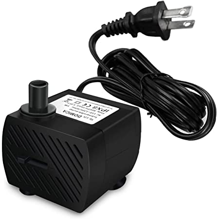 24V T50 Water Pumps Three-Phase Brushless Water Pump Mini Submersible Pump Waterproof for Booster Fish Pond Aquarium