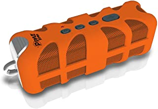 Upgraded Pyle Splash SoundBox Waterproof Bluetooth Speaker, Portable Wireless Outdoor, Enhanced Bass, USB, 3.5mm AUX, IPX4... photo