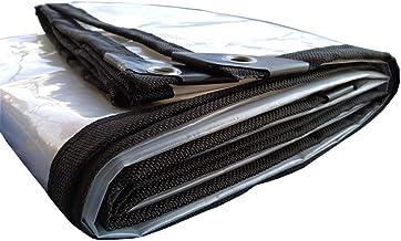 Wang Zware zeildoek lichtgewicht transparante Tarp grondplaat covers schuilplaats tent onderlaag outdoor, 120G/M² 100% wat...