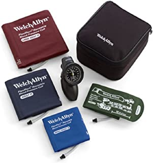 Welch Allyn DS58-MC Gauge with Family Practice Kit, Nylon Zipper Case