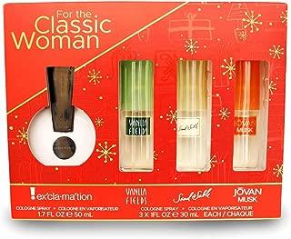 Women's Omni 4 Piece Cologne Spray Set