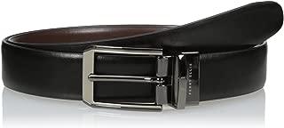Portfolio Men's 2-Tone Matte and Shine Buckle Reversible Belt