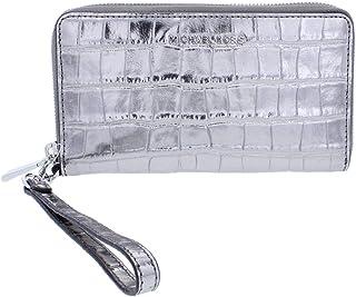 MICHAEL Michael Kors Women's Wristlet (32F7MFDE4K_Silver)
