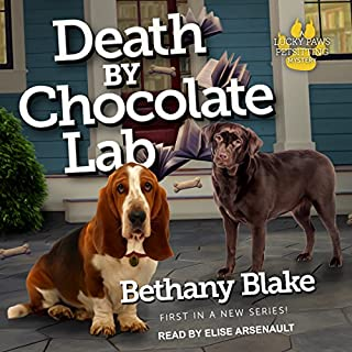 Death by Chocolate Lab     Lucky Paws Petsitting Mystery Series, Book 1              By:                                                                                                                                 Bethany Blake                               Narrated by:                                                                                                                                 Elise Arsenault                      Length: 8 hrs and 2 mins     31 ratings     Overall 4.2
