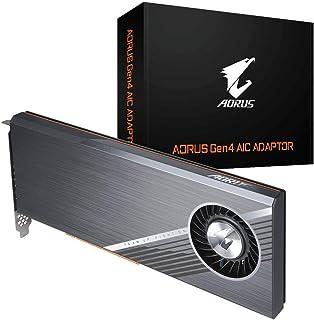 Gigabyte GC-4XM2G4 Aorus Gen4 AIC Adaptor for PCIe 4.0 SSD