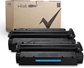 v4ink Compatible Toner Cartridge Replacement for C7115X 15X C7115A 15A to use for HP Laserjet 1000 1005 1150 1200 1200N 1220 1300, HP LaserJet 3300 3310 3320 3330 3380 Printers (Black, 2 Pack)