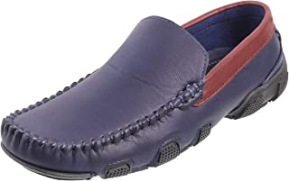 Metro Boys Blue/Navy Synthetic Loafers (46-5290)