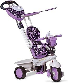 Smart Trike 159-0700 – trehjuling, dröm, touchsteering, lila/svart