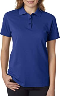 UltraClub womens Basic Piqué Polo (8550L)