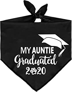 JPB My Auntie Graduated Dog Graduation Bandana