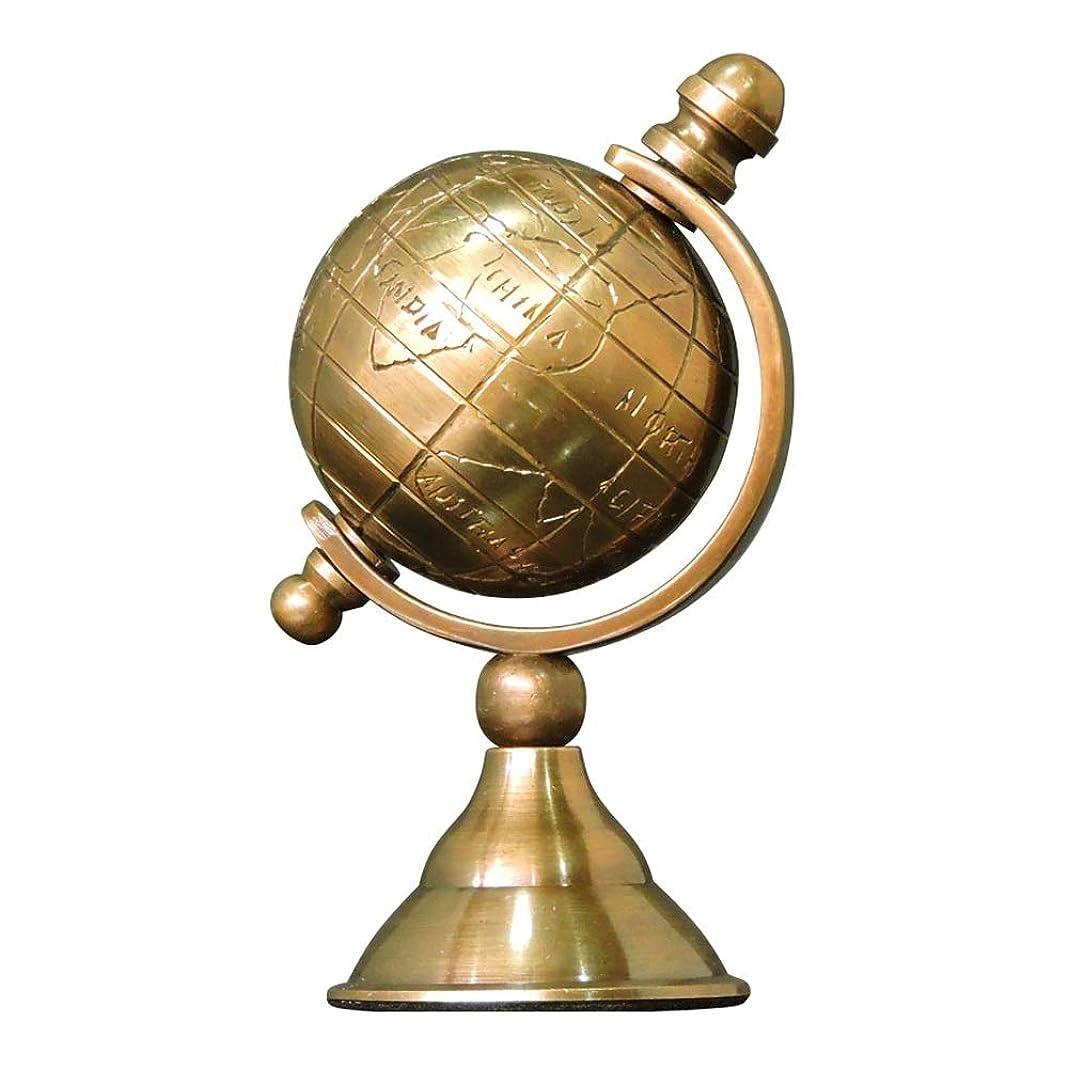 耐えられないシャベル風邪をひくSVHK グローブ小ゴールドArmillaryはユニークなゴールドの占星術の看板黄銅渾天儀沿岸テーブルデコレーション研究卓上小型船舶の装飾品と宝石グローブメタルグローブスタンド