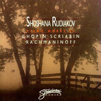 Piano Works By Chopin,Rachmaninoff, Scriabin,