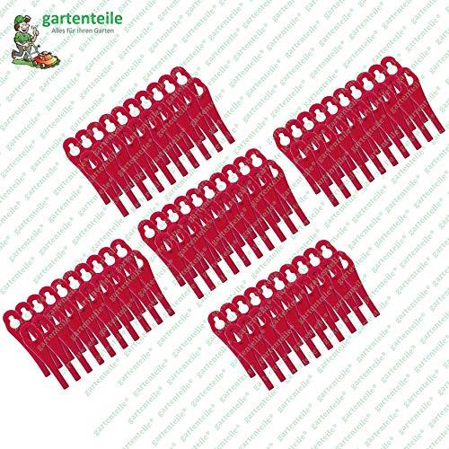 100 Kunststoffmesser, passend für Florabest Akku Rasentrimmer FAT 18 B3 - LIDL IAN 273039