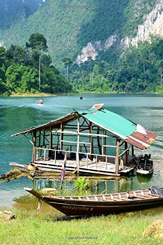 A Beautiful Lake in Khao Sok National Park Thailand Journal: 150 Page Lined Notebook/Diary
