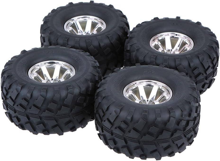 LAFEINA 4PCS 1 10 Monster Ranking TOP11 Truck Tire Plastic Wheel Rim Set Max 57% OFF f and