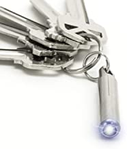 Nano Torch by KeySmart - World's Smallest and Brightest Flashlight for Your Keychain