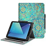 Fintie Case for Samsung Galaxy Tab S3 9.7, [Corner Protection] Multi-Angle Viewing Stand Cover Pocket with S Pen Protective Holder Auto Sleep/Wake for Tab S3 9.7(SM-T820/T825/T827), Shades of Blue
