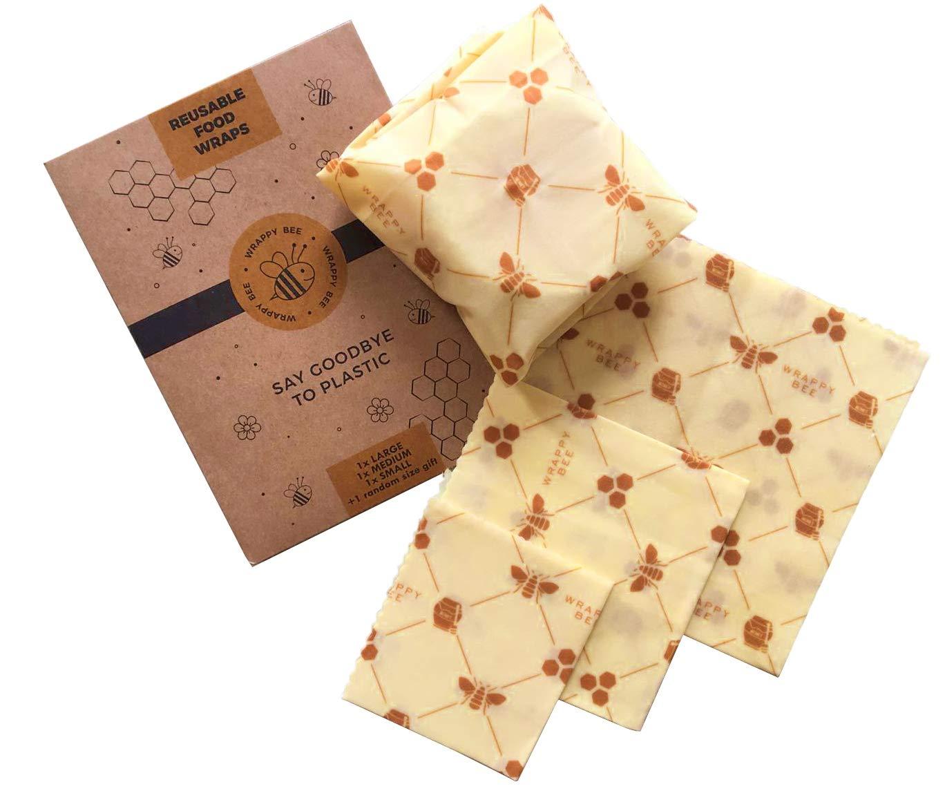 Wrappy Bee Beeswax Wrap: Amazon.es: Hogar