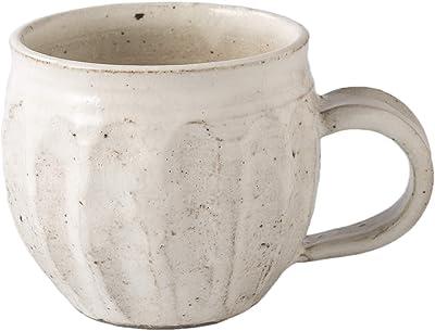 光陽陶器 マグカップ 和食器 ろくろ粉引 めんとりマグ 美濃焼 日本製 20733