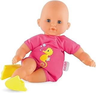 Corolle Mon Premier Poupon Bebe Bath Plouf Pink Toy Baby Doll