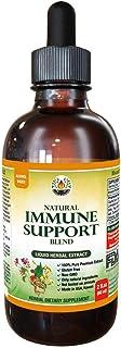 Natural Immune Support Supplement. Tincture of: Quina, OSHA, Echinacea, Lomatium, Forsythia, Cat's Claw, PAU d'Arco, Turme...