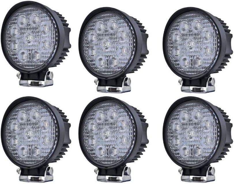 3G Optilux 5. LED Work Light- 6 Pack- Universal for Trucks, Cars