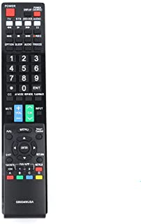 New GB004WJSA Replace Remote for Sharp Smart TVs LC-60LE832U LC-60LE830U LC60LE640U LC70C6400U LC80LE633U LC60C6400UA