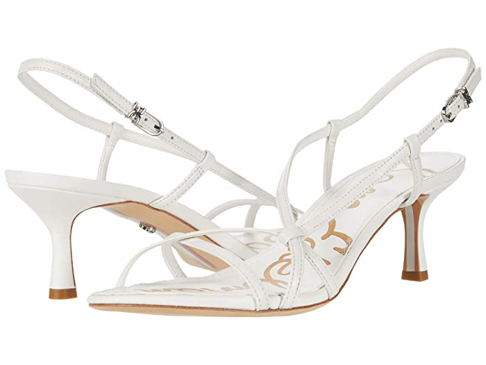 Sam Edelman  Judy (Bright White Butter Nappa Leather) Womens Shoes