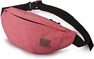Tinyat Travel Fanny Bag Waist Pack Sling Pocket Super Lightweight For Travel Cashier's box, Tool Kit T201
