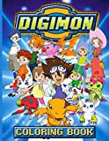 Digimon Coloring Book: Premium Unofficial Digimon Adults Coloring...