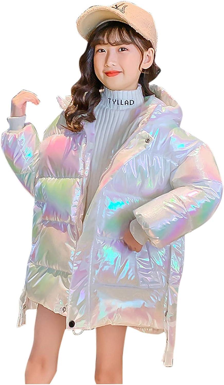SJKU Kids Clothes,Kids Girls Winter Warm Thick Wing Hooded Down Coat Down Jacket Padded Overcoat 2021 Winter