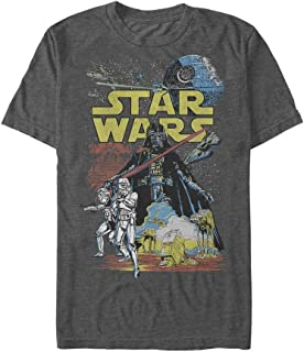 STAR WARS Rebel Classic Graphic - Playera Camisa para Hombre