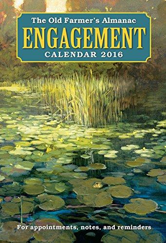 The Old Farmer's Almanac 2016 Engagement Calendar
