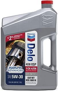 Delo 257001388 400 XSP SAE 5W-30 Synthetic Motor Oil - 1 Gallon