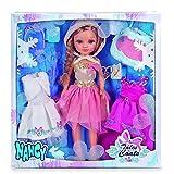 Unbekannt Nancy–Set von DREI Kleider von Märchen mit Puppe (Berühmte 700013110)