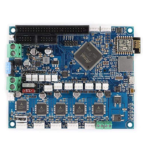 Onior Impresora 3D Placa Madre clonadas de Duet 2 WiFi V1.04 Tarjeta controladora de 32 bits con WiFi 7inch PanelDue Pantalla táctil de la máquina CNC Tablero de Conductor
