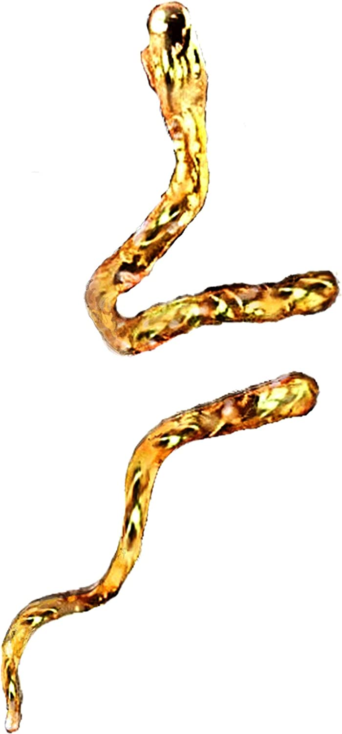 Ear Max 77% OFF Great interest Charms Snake Cuff Non-Pierced Wrap Earring Unisex Rever