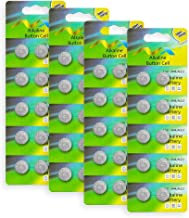 Button Cell Battery, Bingogous LR44 Battery (40 Pack)