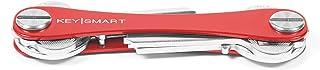 KeySmart – Compact Key Holder and Keychain Organizer (up to 8 Keys, Red)