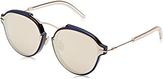 نظارات شمسية كريستيان ديور للنساء، لون ذهبي