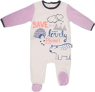 Pijama bebé terciopelo marfil Igloo–Talla–18meses (86cm)