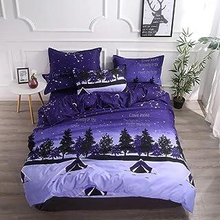 hdfj12146 Couvre lit à Vent de Quatre pièces de Quatre pièces Couverture de lit de Couette de dortoir à Trois pièces 4 piè...