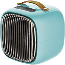Mini Calentador de la casa pequeña Estufa Caliente Oficina de Ahorro de energía de Silencio (Color : B)