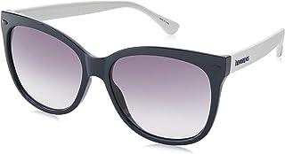 نظارات شمسية ساهي من هافاياناز للنساء، متعددة الالوان (ابيض ازرق) 56