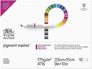 "Winsor & Newton Pigment Marker Heavy Weight Pad, 9"" x 12"", 175GSM, 9""x12"""