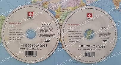 A u d i MMI 2G High 2018 DVD1 + DVD2 Update Navigation