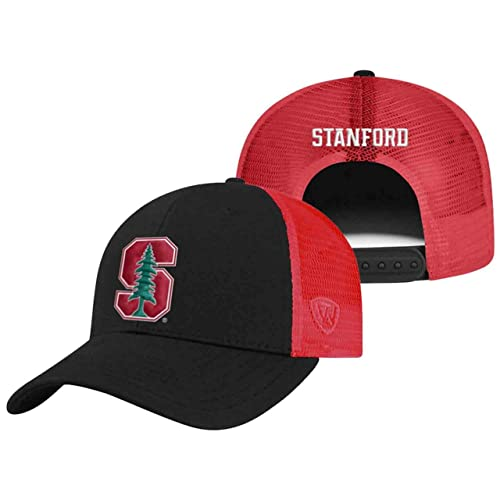 huge discount 4bb97 49c4e Top of the World Stanford Cardinal Adult NCAA Team Spirit Structured Fit  Meshback Hat - Team
