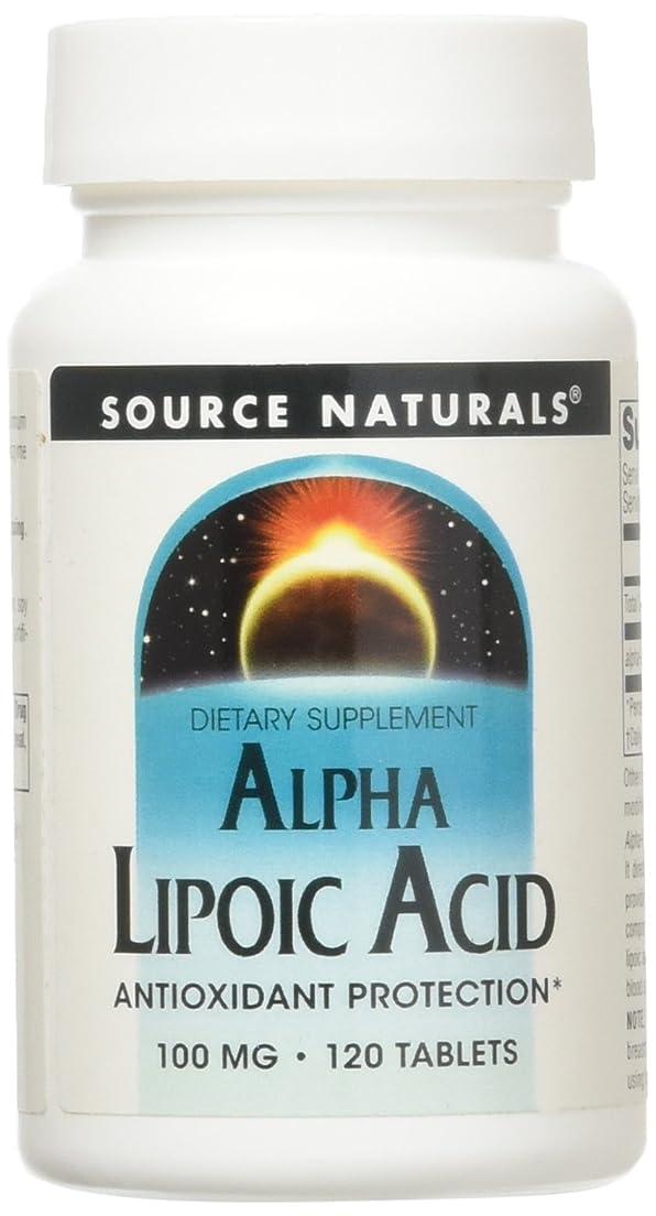 で出来ている致命的咽頭アルファリポ酸(100mg) 120錠