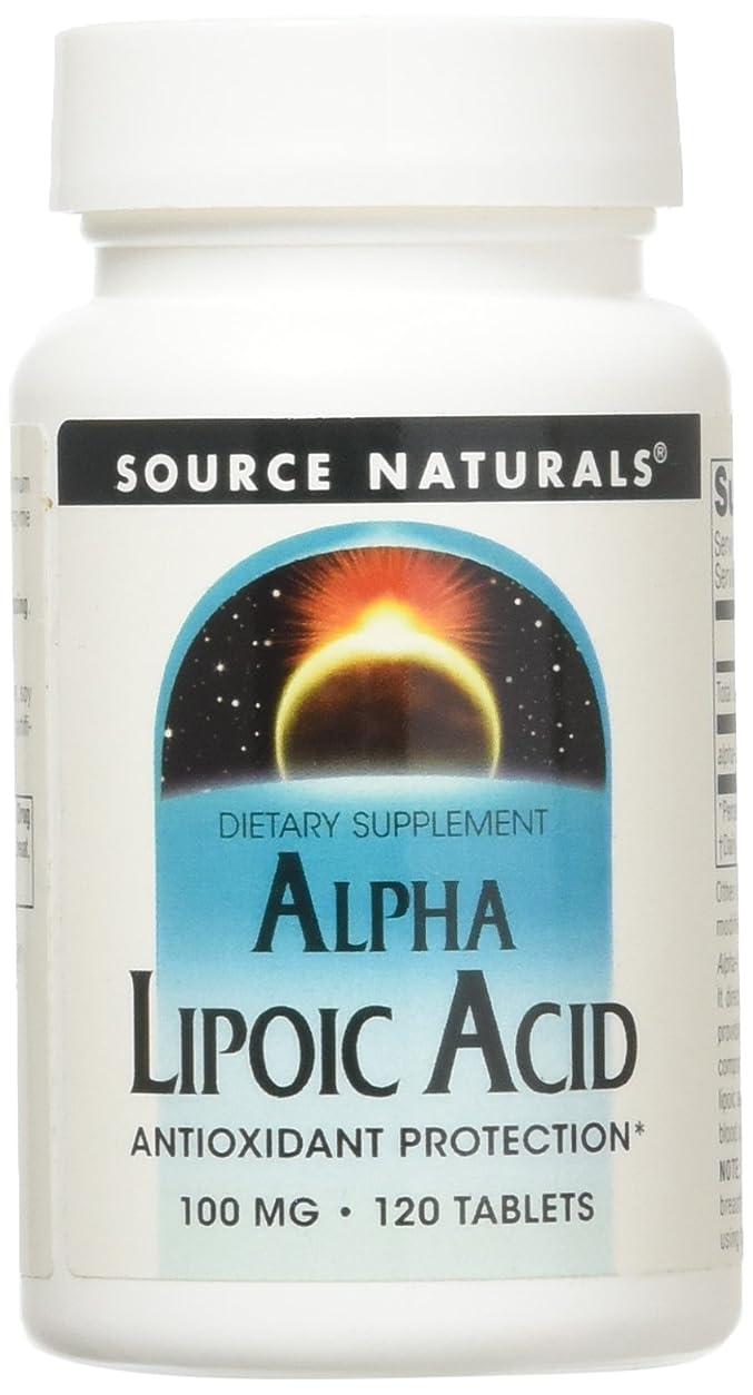 初期のアスペクト終了しましたアルファリポ酸(100mg) 120錠