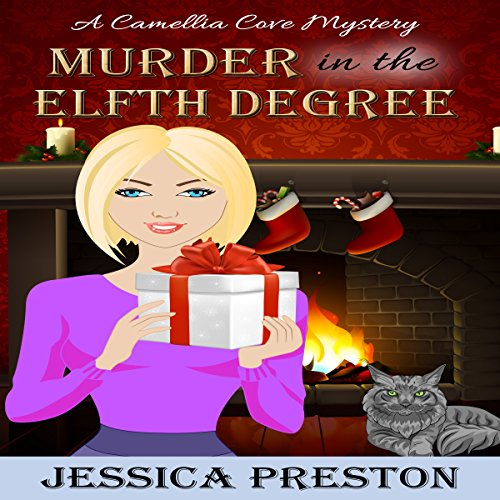 Murder in the Elfth Degree audiobook cover art